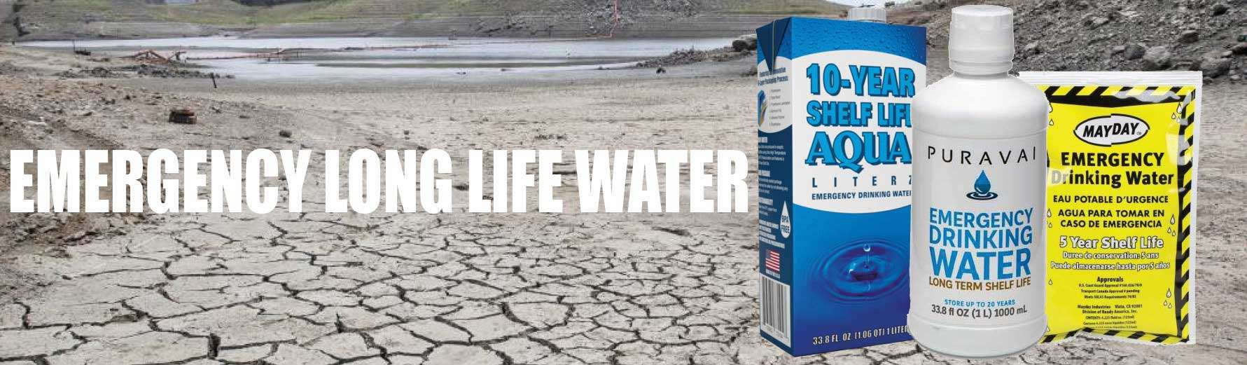 Emergency Long Life Water