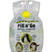Emergency water storage bag
