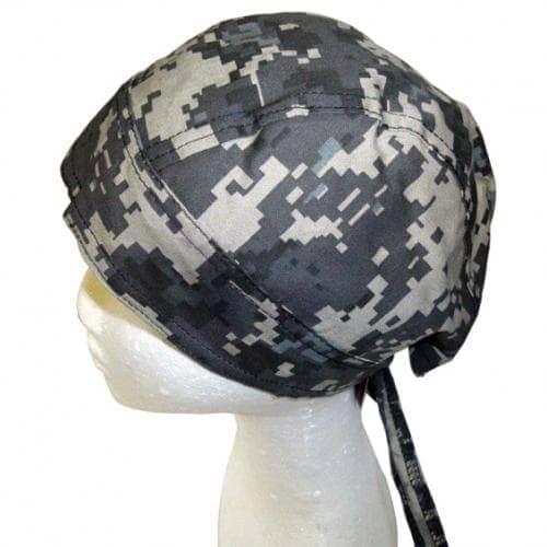 Headwrap Subdued Digital Urban Camo