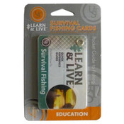 UST Learn and Live Survival Fishing Cards