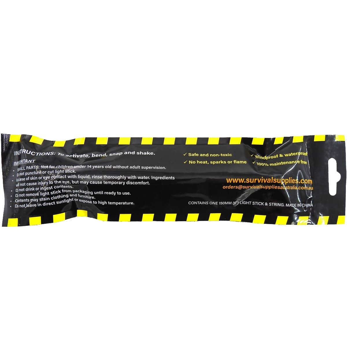 """SSA 6"""" Glow Sticks"""