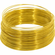Snare Wire Brass 24 Gauge 100ft