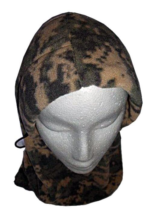 Polar Fleece Adjustable Balaclava ACU Digital Camo
