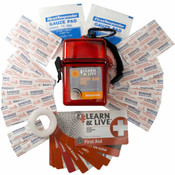 Learn and Live First Aid Kit