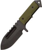 Medford Sea Wolf Knife - OD Kydex Sheath