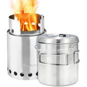 Solo Stove Titan-Pot1800 Combo