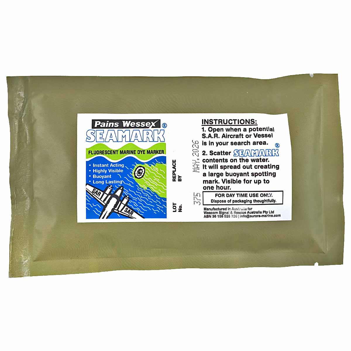 Pains Wessex Sea Dye Marker 40g