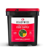 ReadyWise 120 Serving Freeze Dried Vegetable Bucket
