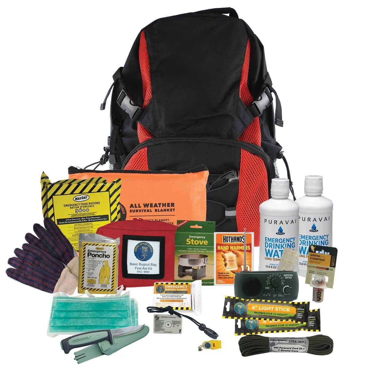 Deluxe 48Hour Bug Out Bag (1 Person)