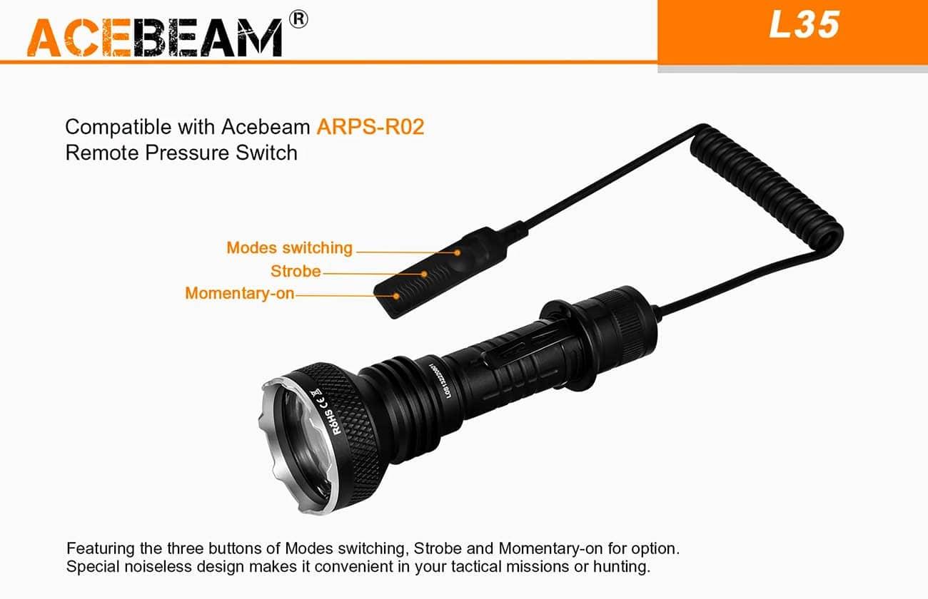 Acebeam L35 CREE XHP70.2 5000K Torch