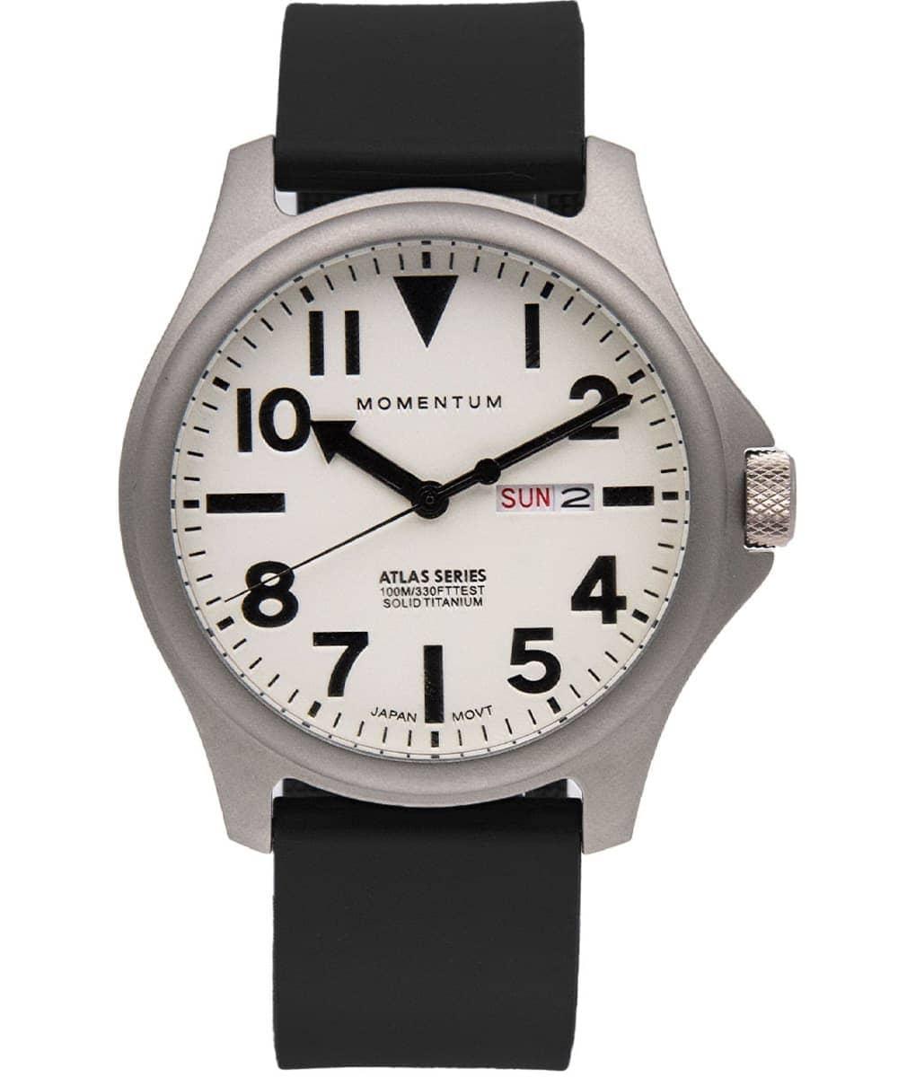 Momentum Watch Atlas TI White 44MM