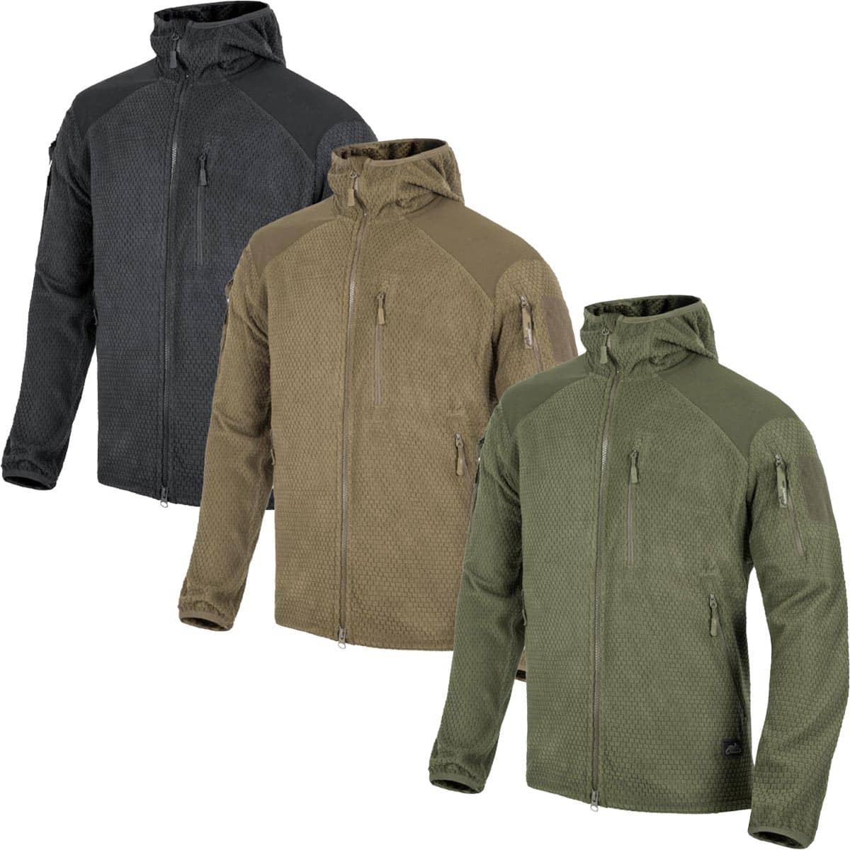 Helikon-Tex Alpha Hoodie Jacket - Grid Fleece