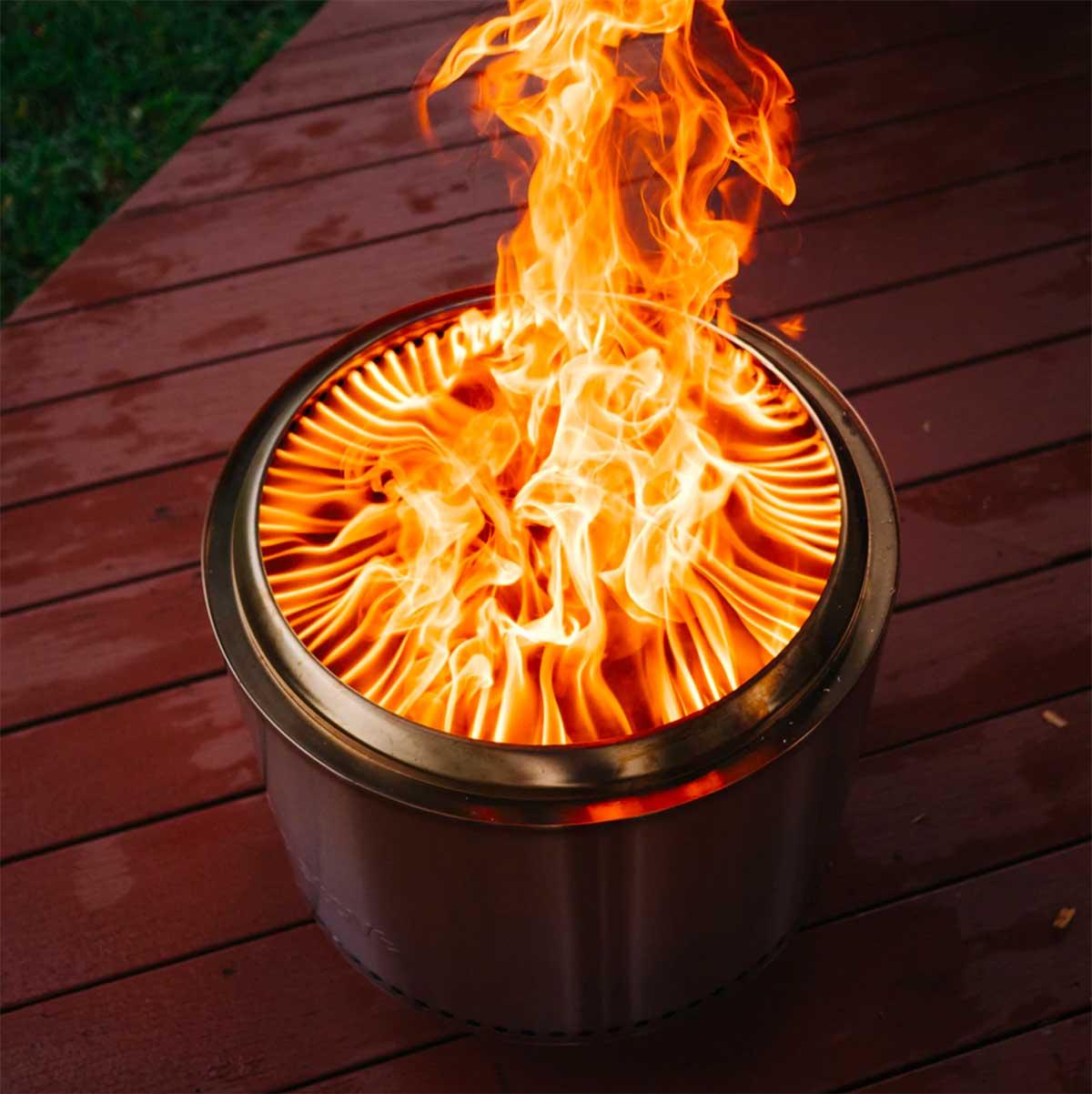 Solo Stove Bonfire Fire Pit & Stand Bundle