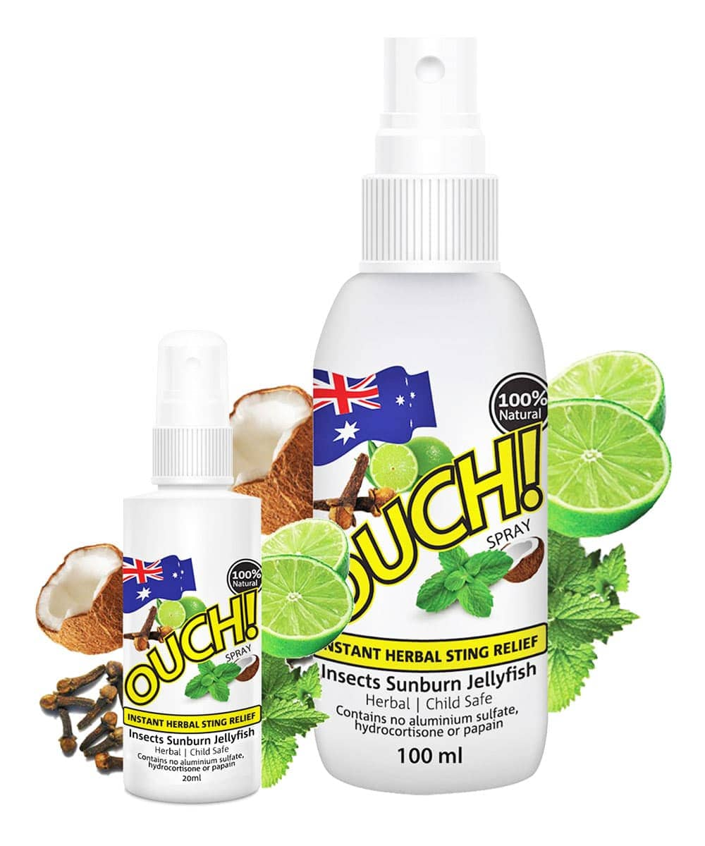 Ouch Herbal Instant Sting Relief Spray