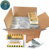 SSA Emergency Mylar Thermal Space Blanket Bulk 240 Pack