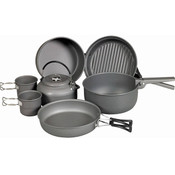 NDUR 9 Piece Cookware Mess Kit & Kettle