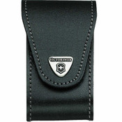 Victorinox Leather Sheath with Rotating Belt Clip - Black