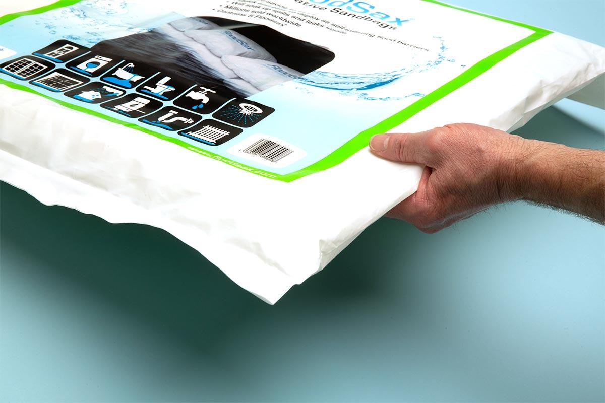 FloodSax Instant Sandbags 5 Pack